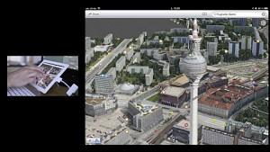 Karten und Flyover in iOS6 ausprobiert
