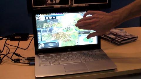 Civilization 5 mit Touchscreen-Steuerung