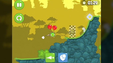 Bad Piggies angespielt