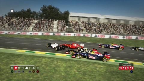 F1 2012 - Gameplay von Platz 16 auf 1
