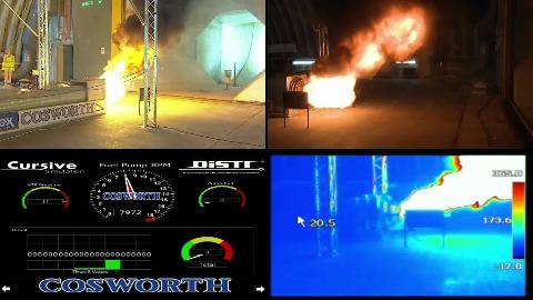 Bloodhound SSC - Raketentest