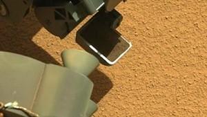 Curiosity rüttelt Bodenprobe - Nasa