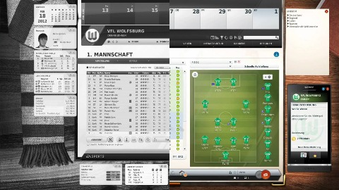 Fußball Manager 13 - Trailer (User Interface)