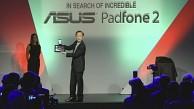 Johnny Shih präsentiert das Asus Padfone 2
