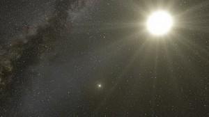 Flug durch das Alpha-Centauri-System - Eso
