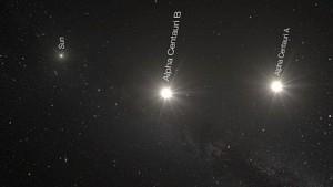 Eine Reise zu Alpha Centauri - Eso