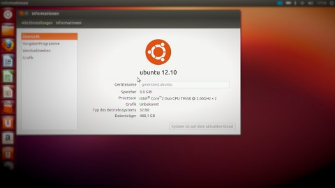 Ubuntu 12.10 - Test