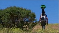 Kamerarucksack Trekker für Street View zu Fuß