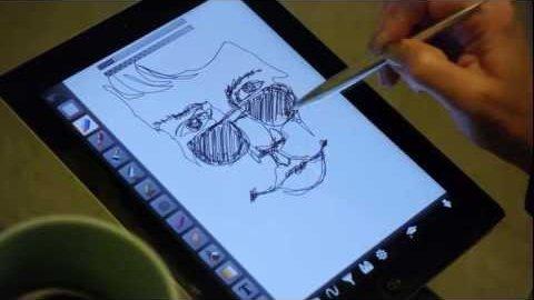 Eingabehilfe Gosmart Stylus für Tablets