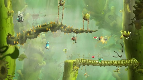 Rayman Legends - Trailer (Gameplay, Wii U)