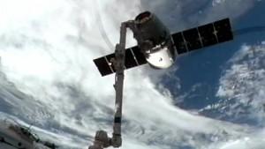 Dragon verlässt die ISS
