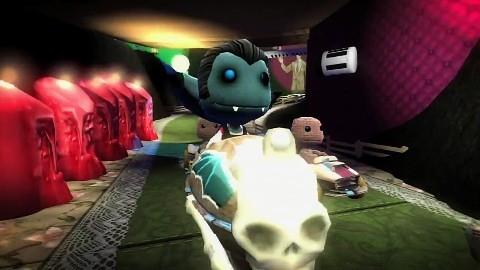 Little Big Planet Karting Trailer Halloween Videogolemde