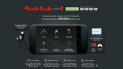 Humble Bundle für Android 4 - Trailer