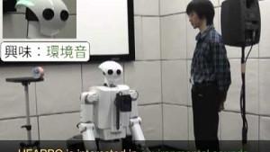 Roboter Hearbo unterscheidet Geräuschquellen