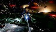 Star Citizen - KI-Gefechte in einer frühen Version