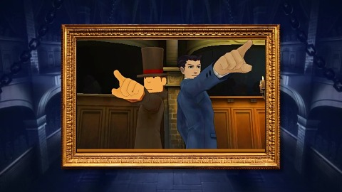 Prof. Layton vs Ace Attorney - Trailer (jap. Launch)