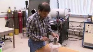 3D-Druck mit Mondsediment