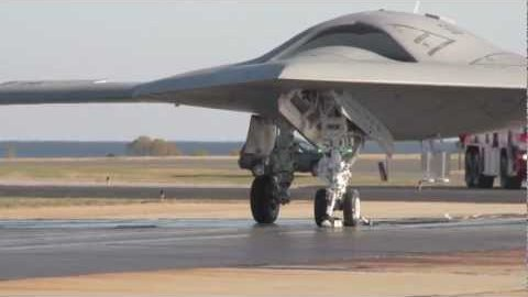Katapultstart der Drohne X-47B