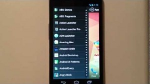 Chris Lacy stellt den Android Action Launcher vor