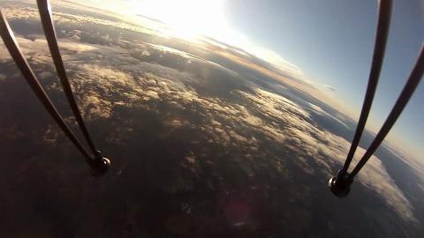 Kepler Space Kit - Fotos in der oberen Atmosphäre