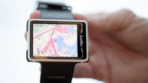 GPS-Sportuhr Leikr mit Farbdisplay - Trailer