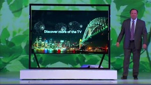 samsung micro led tv angesehen ces 2019 video. Black Bedroom Furniture Sets. Home Design Ideas