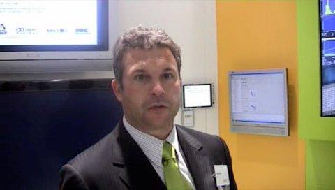 Jos Klippert von NXP erklärt den PNX5100 auf der IFA