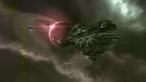 Eve Online Gallente Moros Dreadnought