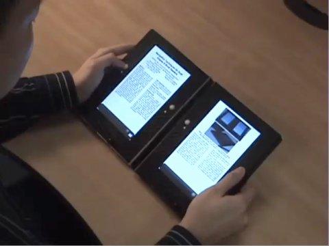 E-Book mit Dual-Display