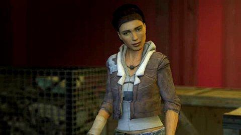 Half Life 2 - Alte Gesichtsanimation am Beispiel Alyx
