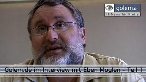 Golem.de im Gespräch mit Eben Moglen 1
