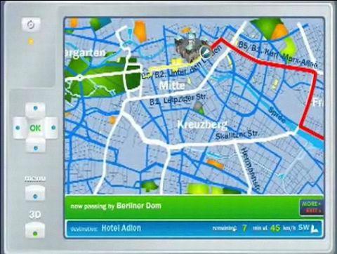 NavTeq GPS-Daten in 3D